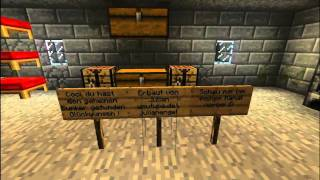 Let s show minecraft 002 deutsch fliegende st dte for Modernes redstone haus