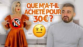 QUE M'A-T-IL ACHETÉ POUR 30€ ? 🤔
