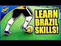 "Football Skill Tutorial #13 ""Brazil Skills"" ★ Ronaldo/Messi/Neymar Skills (How To Do)"