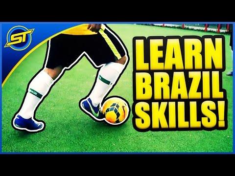 Learn 5 Cool Brazilian Football Skills_哔哩哔哩 (゜- …