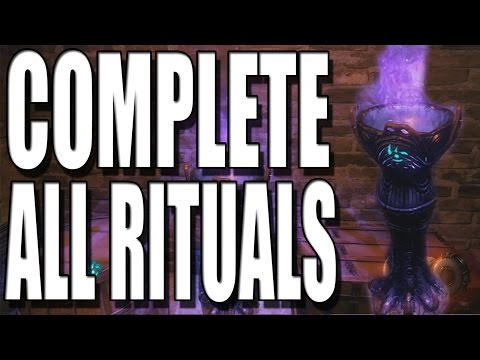 Black Ops 3 Zombies How To Complete All Rituals and All Ritual Part Locations on Shadows of Evil