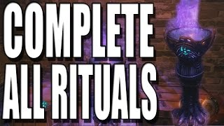 """Black Ops 3 Zombies"" How To Complete All Rituals and All Ritual Part Locations on Shadows of Evil"