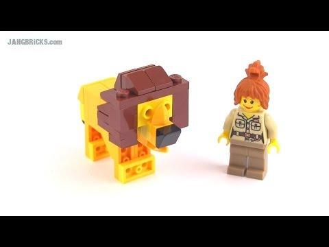 Gallery Lego Art » Lego Lion