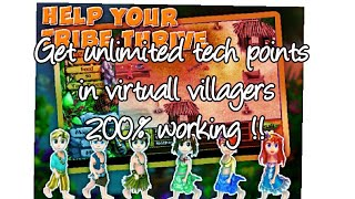virtual villagers origin- cheat .(hack unlimited tech points)