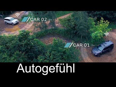 Jaguar Land Rover all-terrain autonomous self-driving research