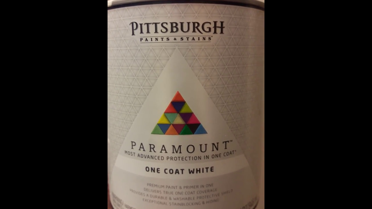 Pittsburgh paramount one coat paint review youtube for One coat exterior paint reviews