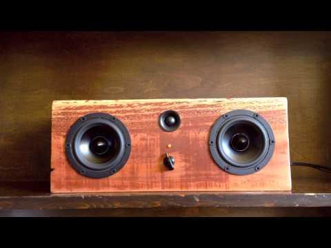 Large Music Box Speakers - Salvage Audio - Handmade Home Audio