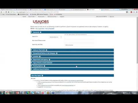 USAJOBS and Federal Resume Builder with K Troutman