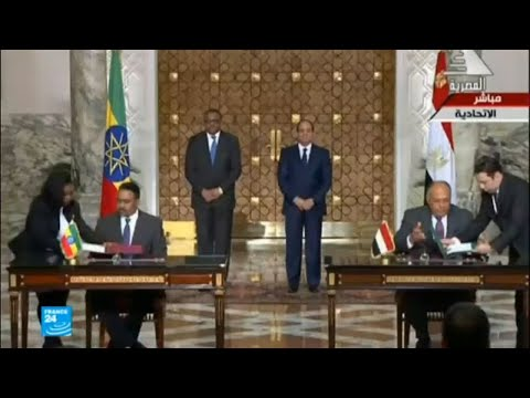 اجتماع بين مصر وإثيوبيا لحل الخلافات المتعلقة بسد النهضة  - نشر قبل 2 ساعة