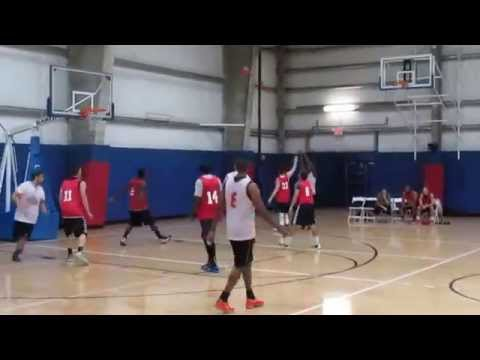 Chelsea Piers Championship Basketball Game - 1st Half - Stamford, CT - September 17, 2014