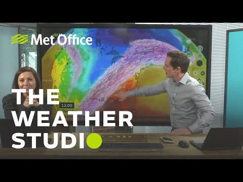 Calming down, but not for long - The Weather Studio 04/02/20