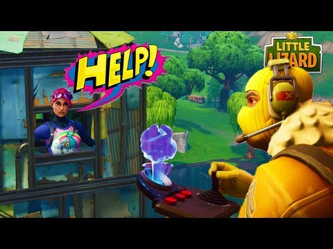 RAPTOR SAVES LITTLE KELLY! *SEASON 5 HERO* FORTNITE SHORT FILM