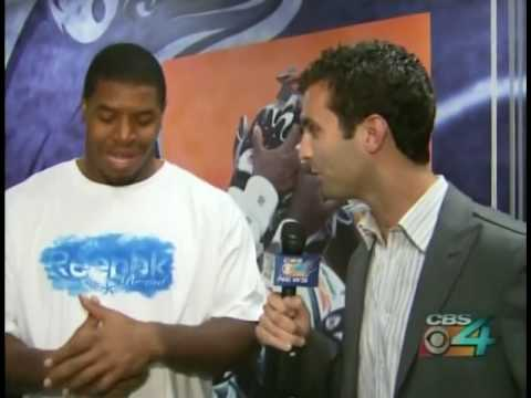 CBS-4 Player Profile -- Dolphins linebacker Cameron Wake