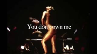 Selena Gomez - You Don't Own Me (Studio Version)
