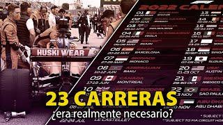 LOS PROBLEMAS DEL CALENDARIO DE LA F1 PARA 2022