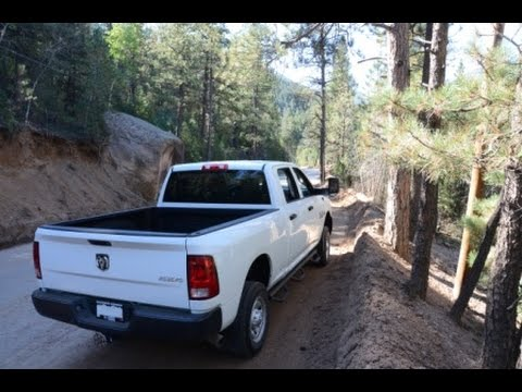 Ram Cummins Offroading Colorado Forest Service Road 379