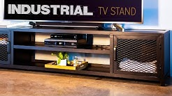 Building A Modern Industrial TV Stand