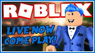 PLAYING ROBLOX LIKE A GOD CHURCH!! 😂 Roblox Live Stream!!