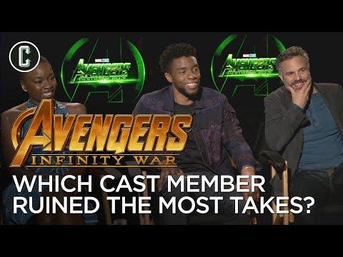 Chadwick Boseman, Danai Gurira, and Mark Ruffalo on Which Avenger Ruins the Most Takes