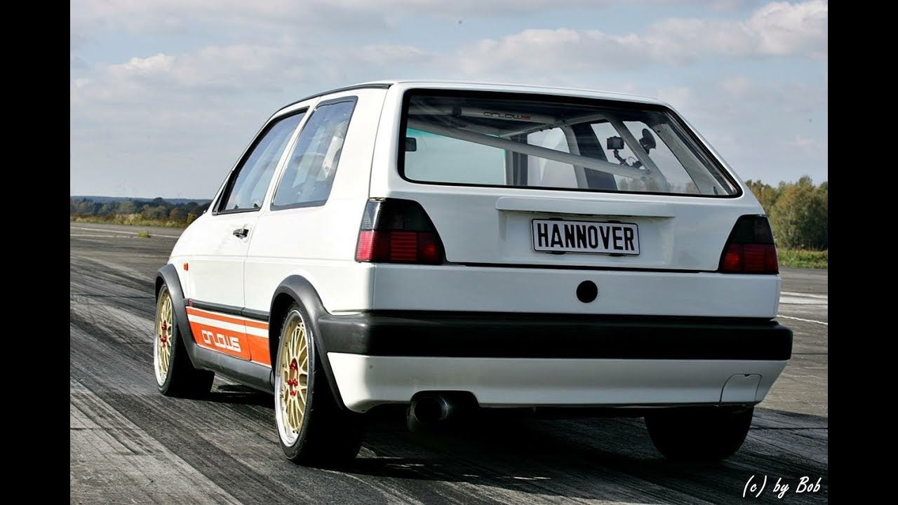 ttt vw golf mk2 vr6 turbo 600 hp hannover hardcore test. Black Bedroom Furniture Sets. Home Design Ideas