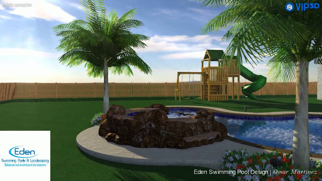 Swimming pool design 1 youtube for Swimming pool design youtube