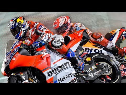 After the Flag: Dovizioso and Marquez duel in the desert