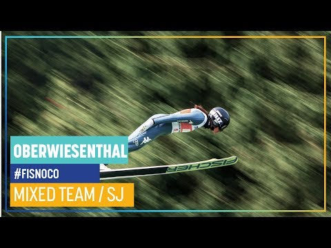 Mixed Team Event Jumping Part in Oberwiesenthal | FIS Nordic Combined