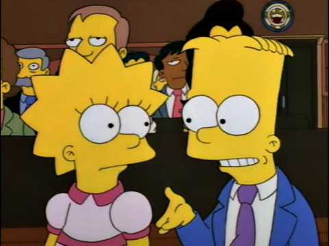 Homer Simpson Jury Duty