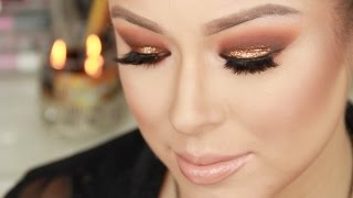 Copper Smokey Eye-Autumn Leaves Inspired Thumbnail