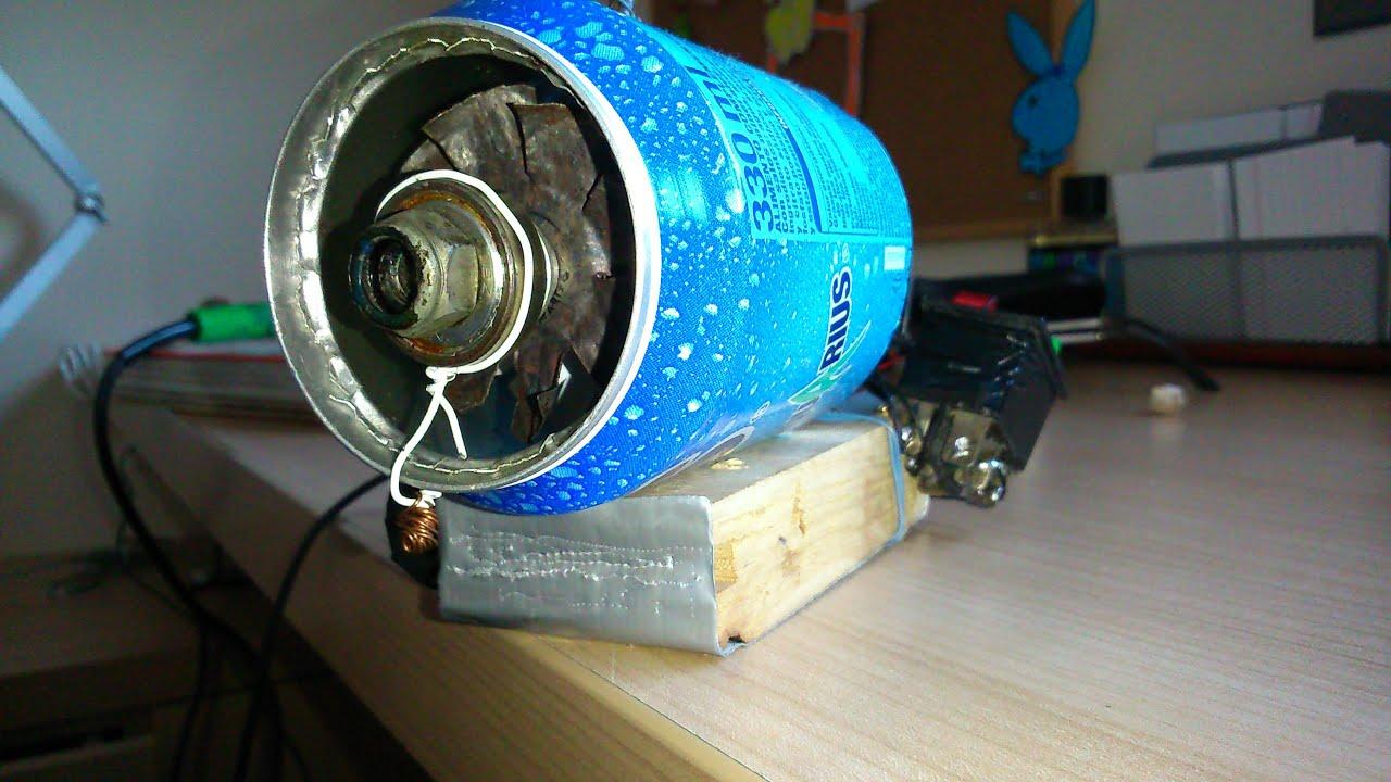 Turbina de avion casera v2 youtube - Como hacer una cachimba casera facil ...