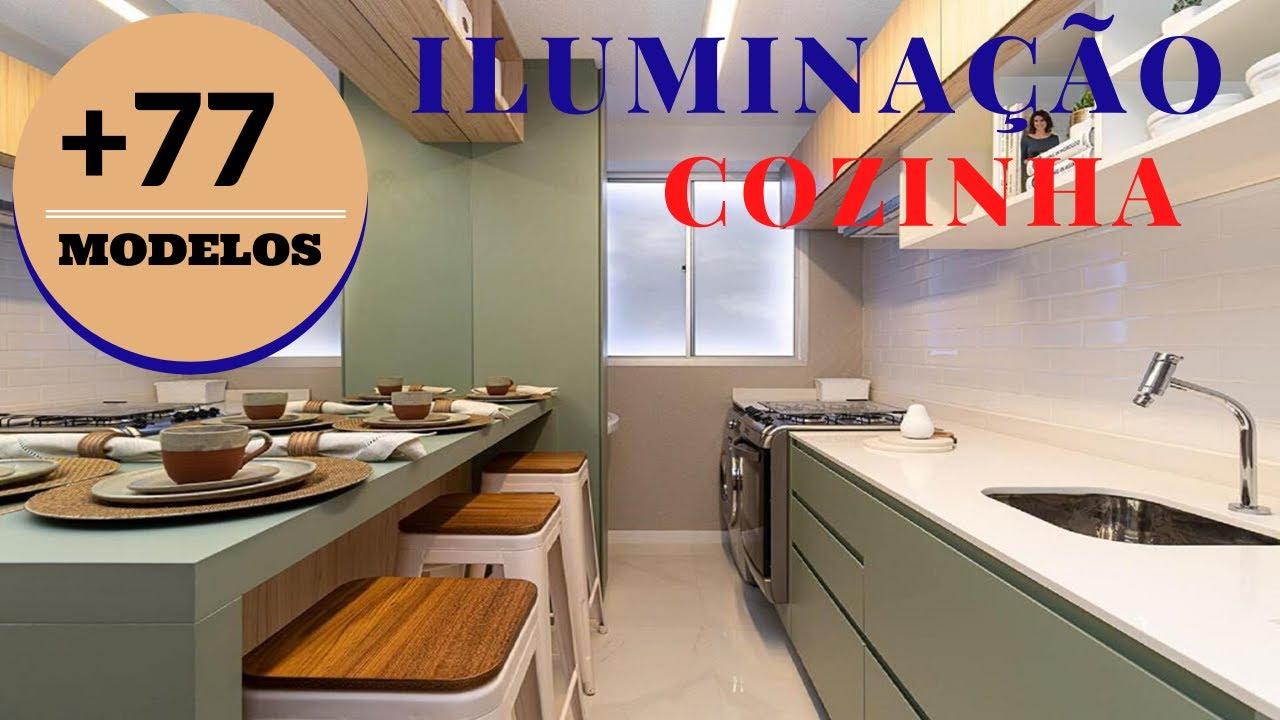 8 Dicas de Iluminação da Cozinha Armários, Prateleiras, Bancada