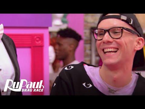 Sasha Gets Ready for Snatch Game   RuPaul's Drag Race Season 9   VH1