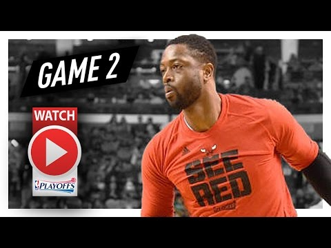 Dwyane Wade Full Game 2 Highlights vs Celtics 2017 Playoffs - 22 Pts, BIG 4th QTR!