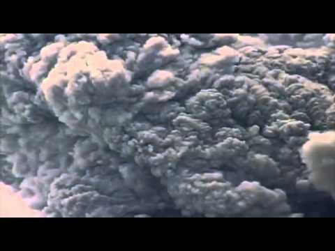 Montserrat - eruption at Soufriere Hills Volcano.wmv
