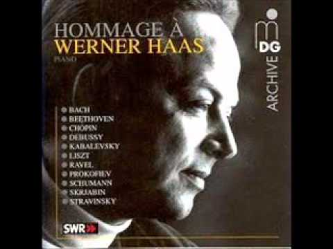 "Werner Haas Plays Debussy Toccata  (from ""Pour Le Piano"" - No. 3)"