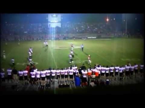Wayne County High School 2012 Cardinal Football Highlights