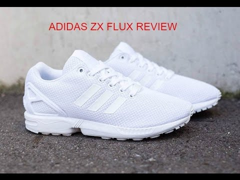 ADIDAS WHITE ZX FLUX REVIEW