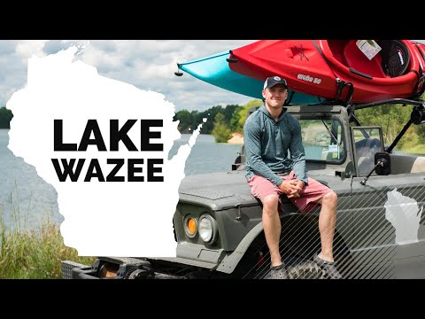 Exploring Lake Wazee In Black River Falls, Wisconsin