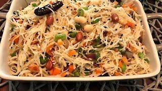 Vegetable Vermicelli Upma | Semiya Upma | Kids Lunch Box Recipe