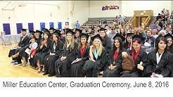Miller Education Center, Graduation Ceremony, June 8, 2016, Hillsboro School District