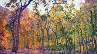 Impressionist Erin Hanson Visits Zion National Park