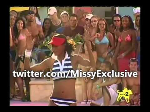 Missy Elliott - Gossip Folks / Work It (2003 MTV Spring Break Performace)
