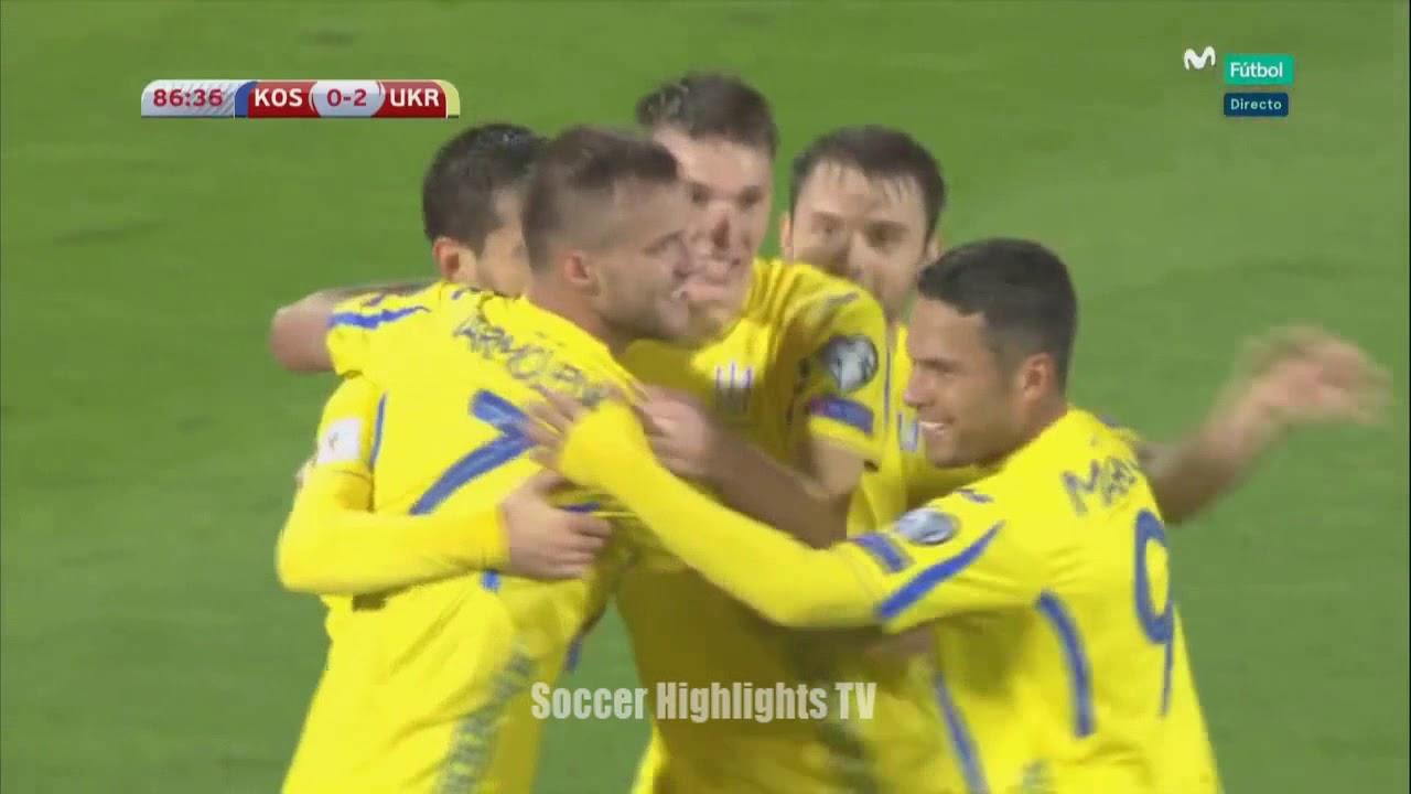 Download Kos vs Ukr 0-2 All Goals and Highlights World Cup Qualifiers October 6 ,2017
