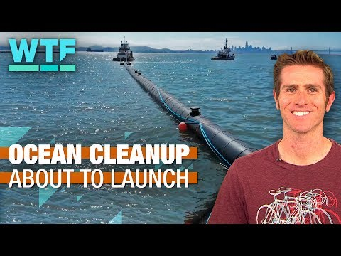 Ocean Cleanup, exotic dancing robot and Lego Bugatti - What The Future - 동영상