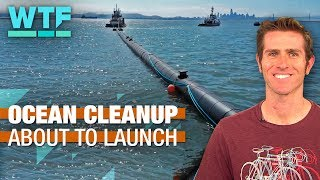 The Ocean Cleanup is about to launch