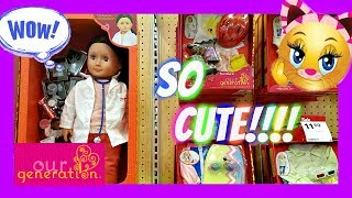 Our Generation DOLL Clothes Shopping At Target 2017 Cute spa set!