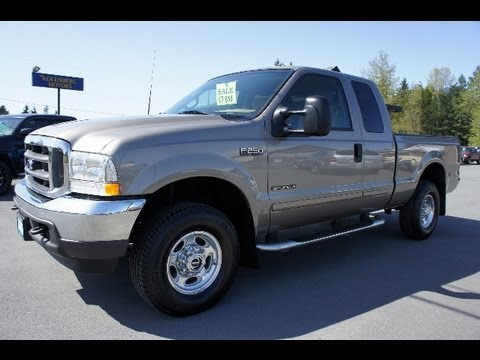 2002 Ford F250 Superduty Powerstroke 7 3l Diesel 4x4 At
