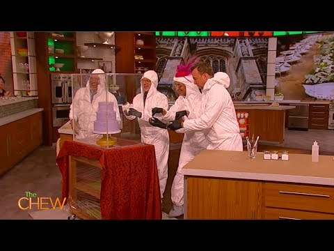 Ron Ben-Isreal Creates An Epic Royal Wedding Cake On The Chew