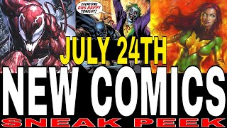 NEW COMIC BOOKS RELEASING JULY 24th 2019 MARVEL AND DC COMICS COMING OUT THIS WEEK - WEEKLY PICKS