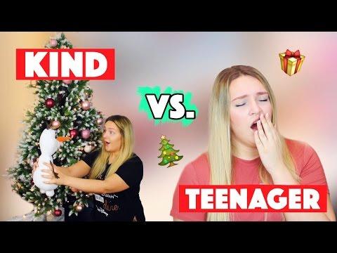 KIND vs. TEENAGER an WEIHNACHTEN | Was Kinder und Teenager machen | #SantasLittleHelpers | Annaxo